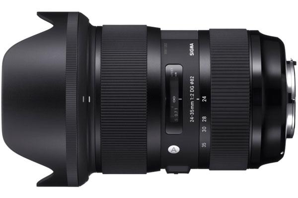Компания Sigma представила объектив 24-35mm F2 DG HSM Art