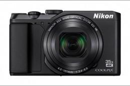 В ассортименте компактных фотоаппаратов Nikon появился суперзум A900