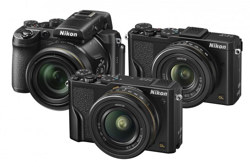 Компания Nikon представила новую серию компактных камер Nikon DL