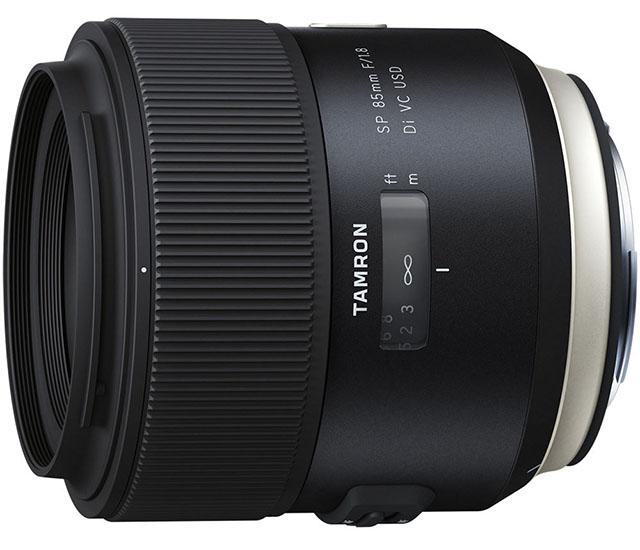 Компания Tamron анонсировала выход объектива 85mm f/1.8 VC