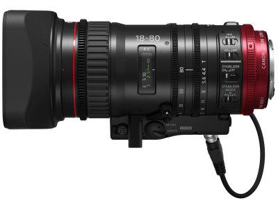 Canon объявляет о выпуске нового объектива семейства Cinema EOS с сервоприводом