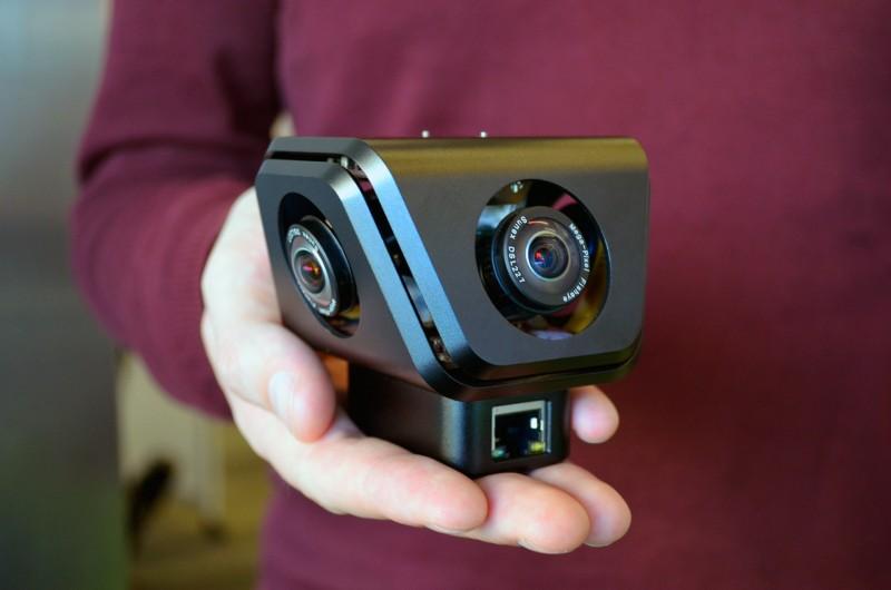 Компания VideoStitch, создала специальную камеру, которая создает 360-градусное видео — Orah 4i