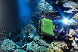 Компания Olympus представила экшн-камеру Stylus TG-Tracker