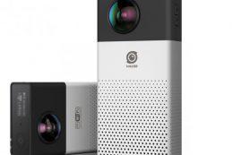 В России вскоре начнет продаваться камера Insta360 4k для съемки панорамного видео на 360 градусов