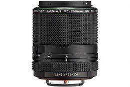 Ricoh Imaging анонсировала объектив the HD Pentax-DA 55-300mm F4.5-6.3 ED PLM WR RE