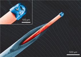 Немецкие инженеры использовали 3D-принтер для создания миниатюрной линзы