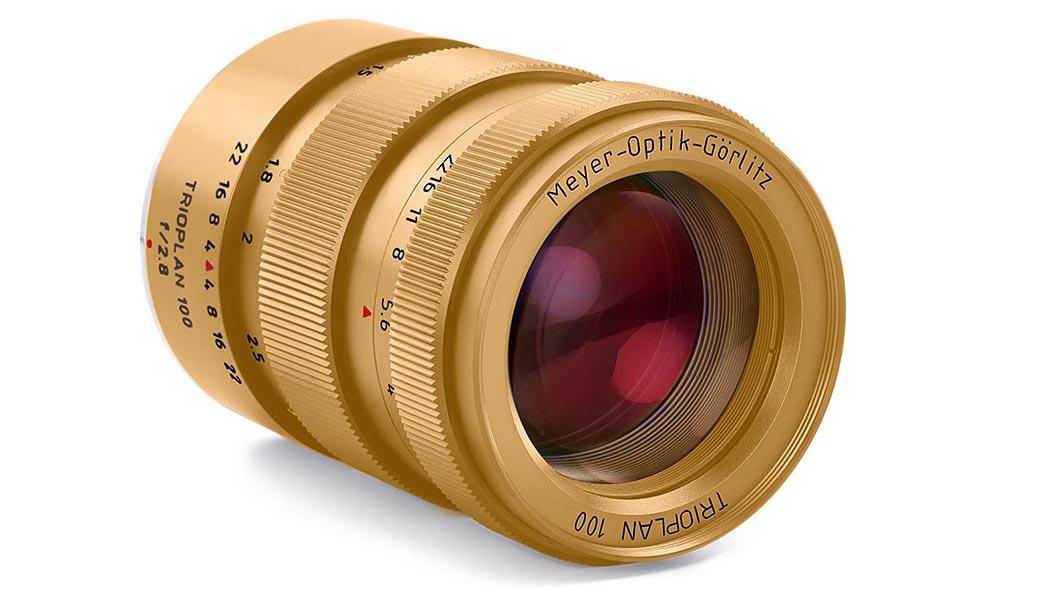 Компания Meyer-Optik Goerlitz анонсировала выпуск объектива Trioplan 100mm F2.8