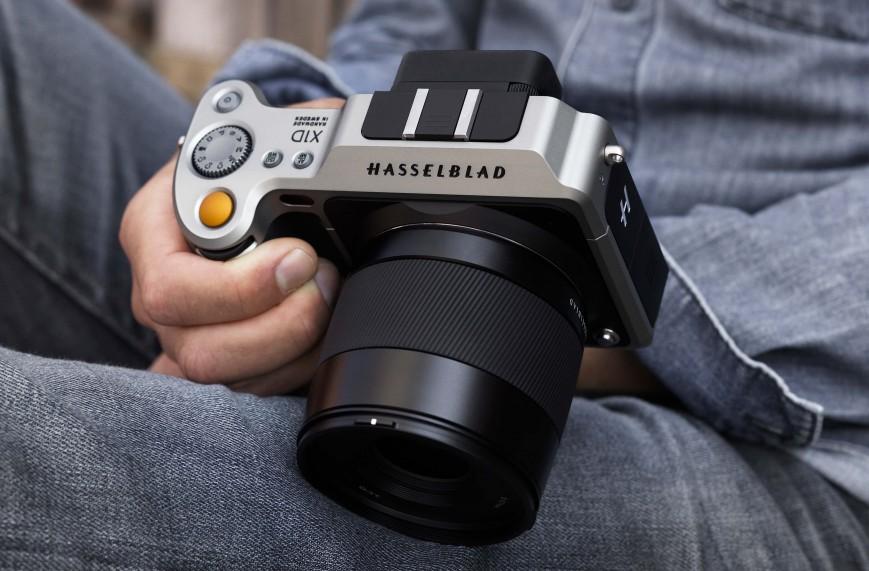 Hasselblad представила свою новую камеру X1D