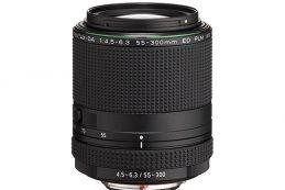 Ricoh Imaging представила зум-телеобъектив HD Pentax-DA 55-300mm F4.5-6.3ED PLM WR RE