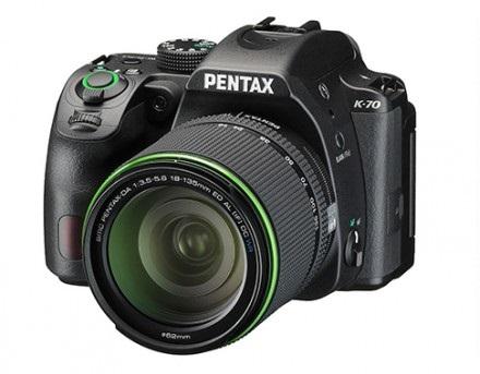 Компания Ricoh Imaging анонсировала новую зеркальную камеру начального уровня — K-70