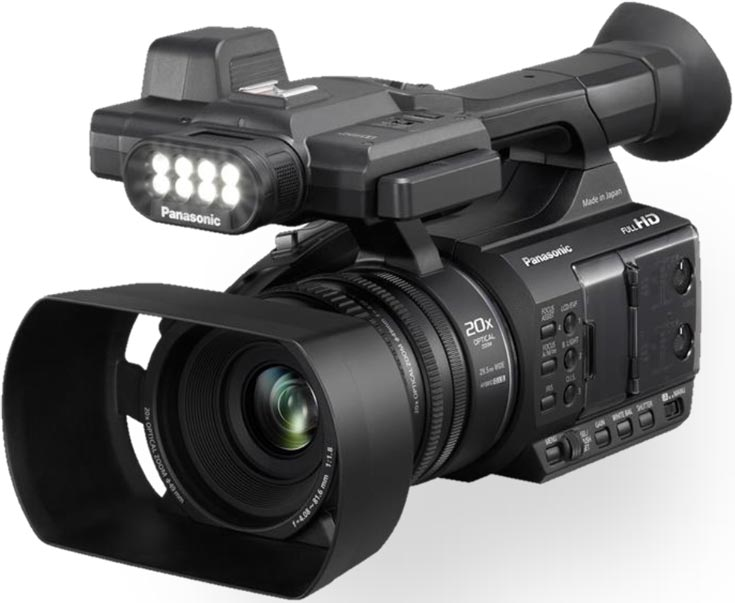 Компания Panasonic объявила о выпуске видеокамеры AG-AC30