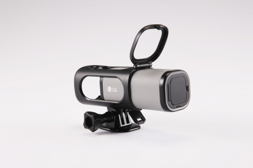 Компания LG Electronics объявила о начале продаж экшн-камеры Action Cam LTE