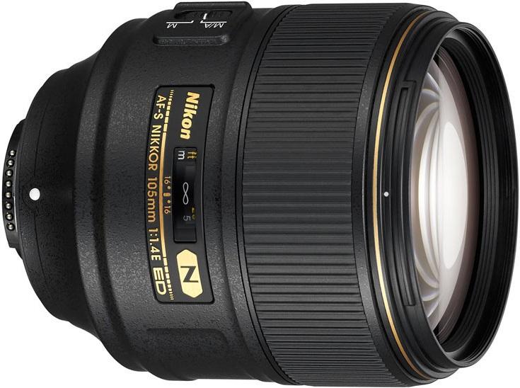 Компания Nikon представила объектив AF-S Nikkor 105mm f/1.4E ED