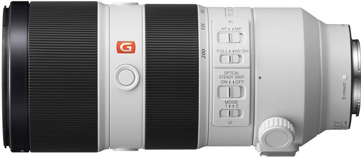 Sony опубликовала пресс-релиз, в котором содержится новая информация о начале продаж объективов FE 70-200mm F2.8 GM OSS