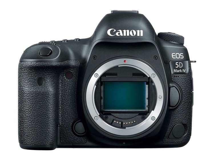 Компания Canon официально представила цифровой зеркальный фотоаппарат EOS 5D Mark IV