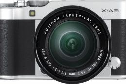 Fujifilm официально представила камеру X-A3