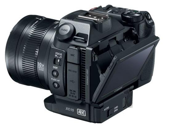 Опубликовано изображение, на котором запечатлена камера Canon EOS XC15