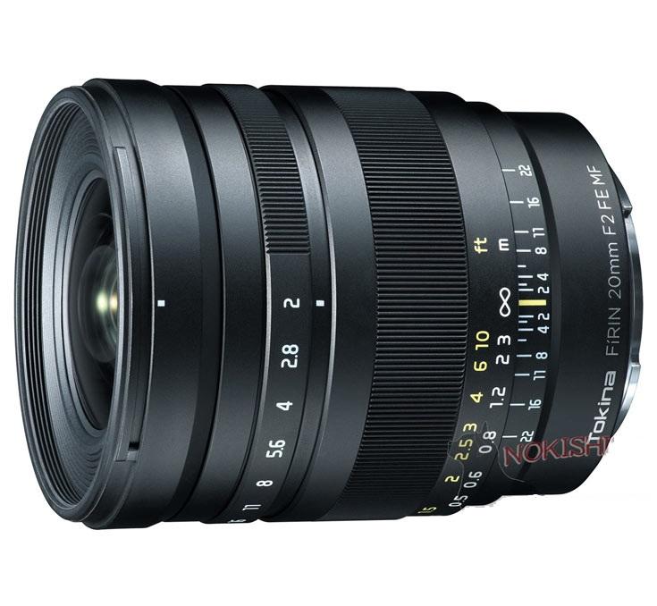 Опубликовано первое изображение полнокадрового объектива Tokina FiRIN 20mm F2 FE MF