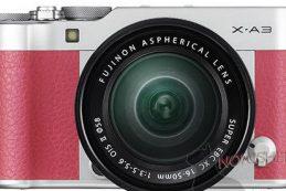Появились первые изображения Fujifilm X-A3