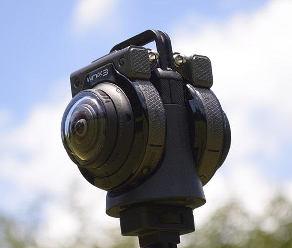 Компания Casio анонсировала 360-градусную камеру Casio EX-FR200