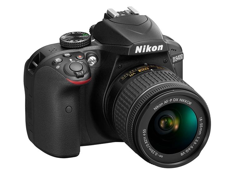 Компания Nikon анонсировала цифровую зеркальную фотокамеру начального уровня D3400