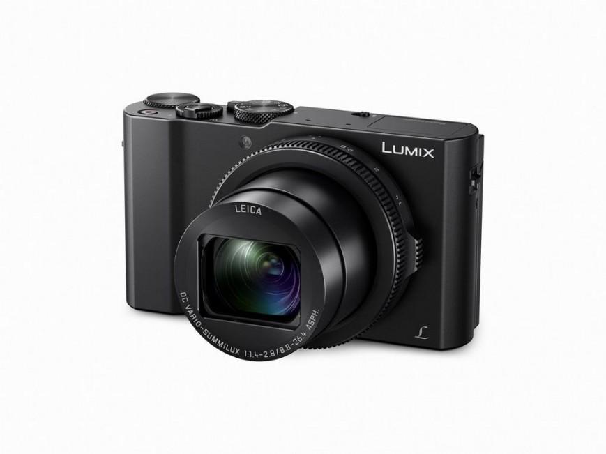 Компания Panasonic представила высококлассную компактную камеру Lumix DMC-LX10