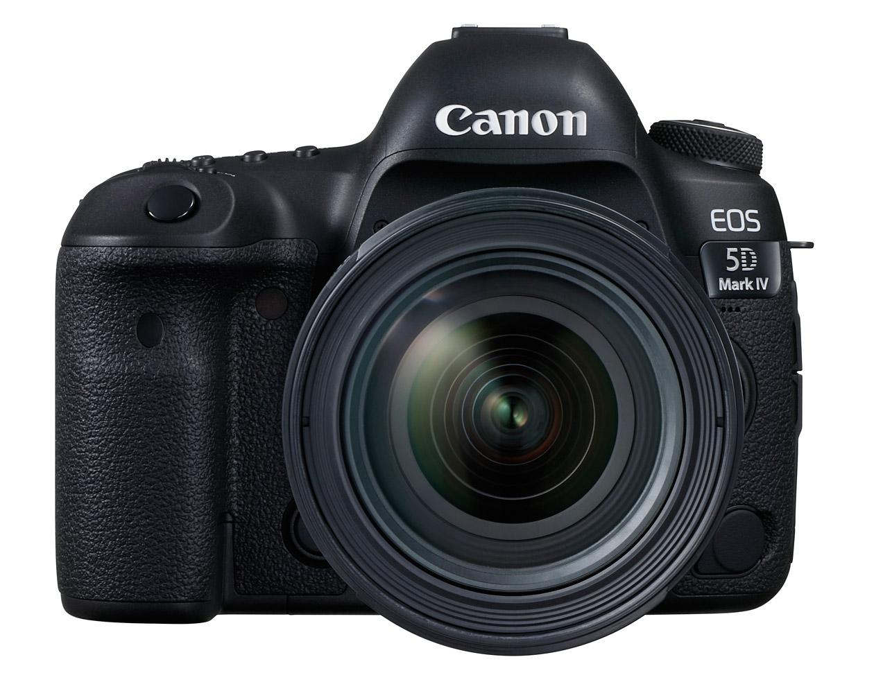 EOS 5D Mark IV – модели четвертого поколения в линейке полнокадровых зеркальных камер для профессиональных фотографов и энтузиастов фотографии