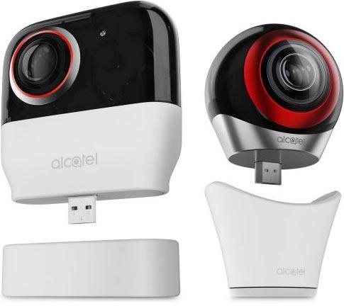 Alcatel представила камеру с безамбициозным названием Alcatel 360 Camera