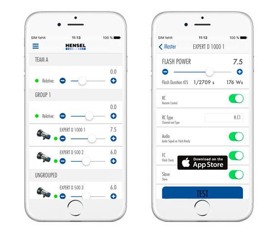 """С помощью нового приложения """"Hensel WiFi Remote"""" пользователи смогут проверять вспышки и управлять всеми их настройками"""