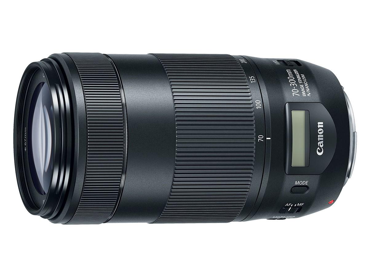 Новый объектив Canon получил жидкокристаллический индикатор, встроенный прямо в оправу