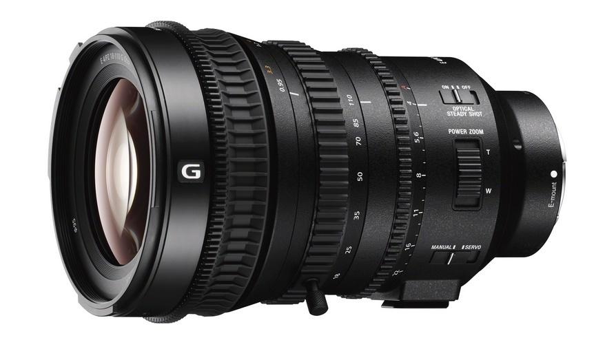 Компания Sony представила новый объектив серии G — SELP181110G
