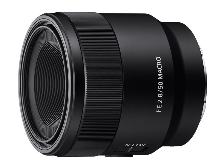 Sony анонсировала полнокадровый макро-объектив FE 50mm F2.8 Macro