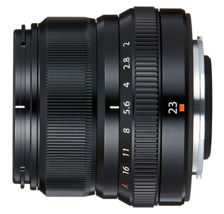 Fujifilm объявила сегодня о выходе объектива Fujinon XF 23mm f/2 R WR