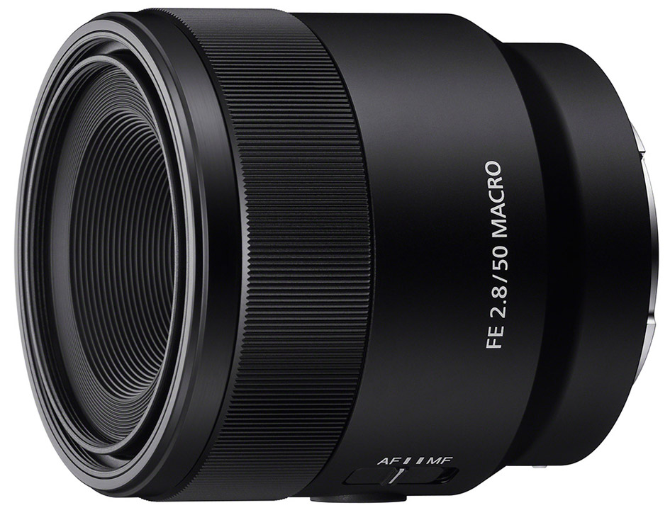 Компания Sony анонсировала новый объектив FE 50mm f/2.8 Macro