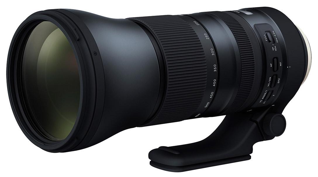 Компания Tamron официально объявила о выходе объектива Tamron SP 150-600mm Di VC USD G2