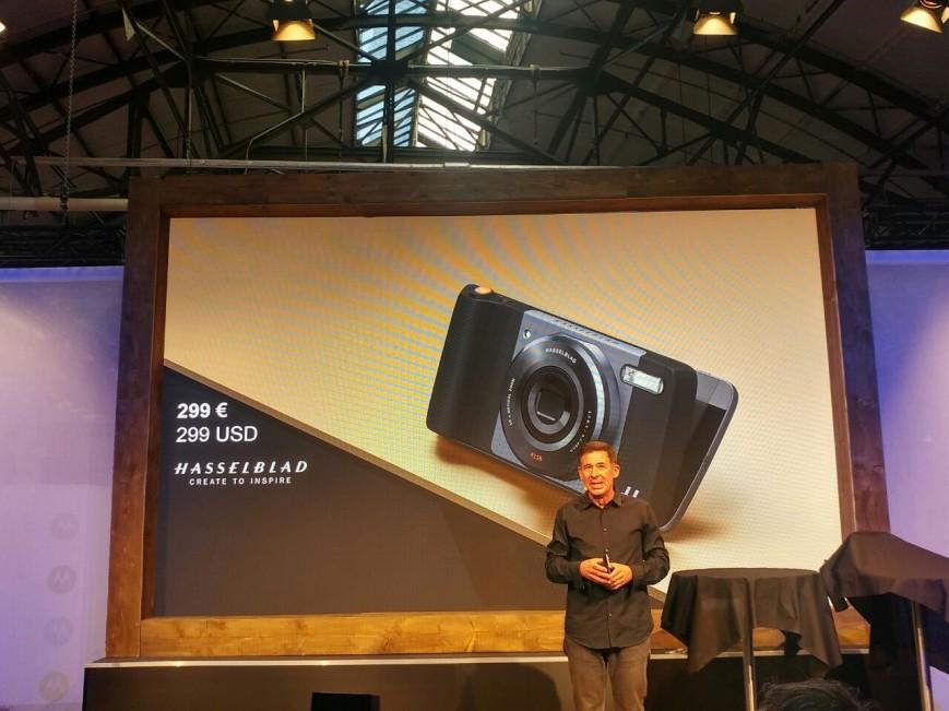 На открытии выставки IFA 2016 компания Lenovo представила ту самую панельку от компании Hasselblad
