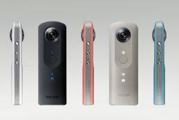 Компания Ricoh представила камеру Theta SC