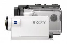 Компания Sony сообщила о начале продаж в России экшн-камеры Sony Action Cam HDR-AS300