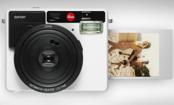 Компания Leica Camera представила пленочную камеру мгновенной печати Leica Sofort