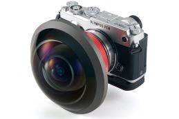 Entaniya 250 Fisheye MFT — объектив, который может отчасти «видеть» даже то, что находится позади него