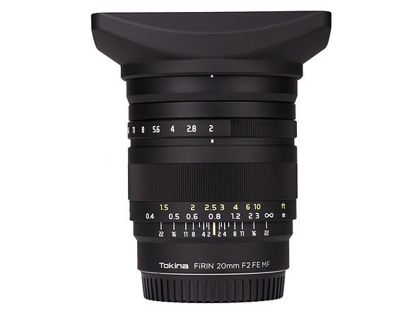 Kenko Tokina Corporation представила широкоугольный объектив с ручной фокусировкой FíRIN 20mm F2 FE MF