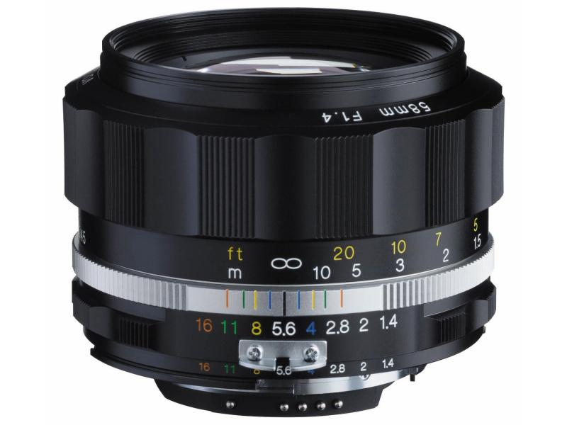 Компания Cosina представляет полнокадровый объектив с ручной фокусировкой Voigtlander Nokton 58mm f/1.4 SL II S