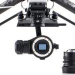 DJI Zenmuse X5- первая в мире беззеркальная камера класса микро 3/4 которая разработана специально для аэросъемки и кинематографии