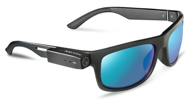 Крошечная камера PogoCam может быть подключена к любым очкам, вне зависимости от того солнцезащитные они или для зрения