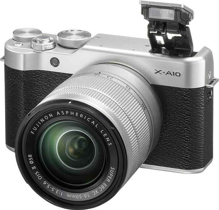Компания Fujifilm представила беззеркальную камеру Fujifilm X-A10