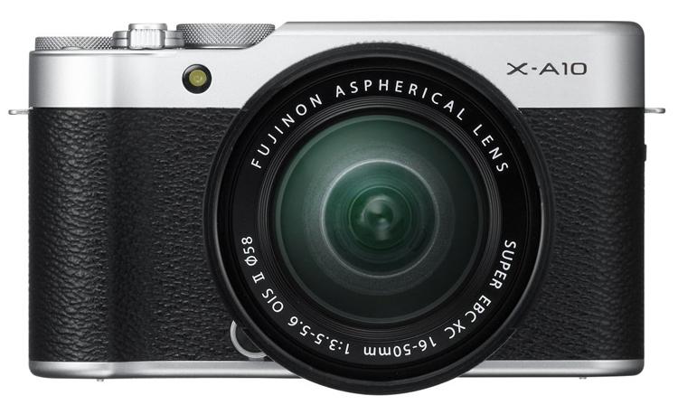 Компания Fujifilm официально представила беззеркальный фотоаппарат X-A10