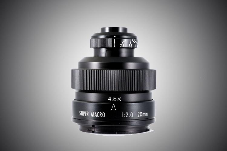 Компания Zhongyi Optics разработала новый объектив Mitakon 20mm f/2 4.5x Super Macro