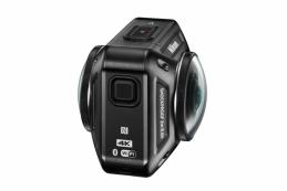 Компания Nikon сообщила о начале продаж в России экшн-камеры KeyMission 360