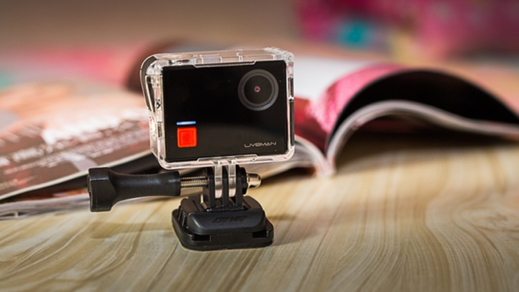 Liveman C1: первая экшен-камера LeEco