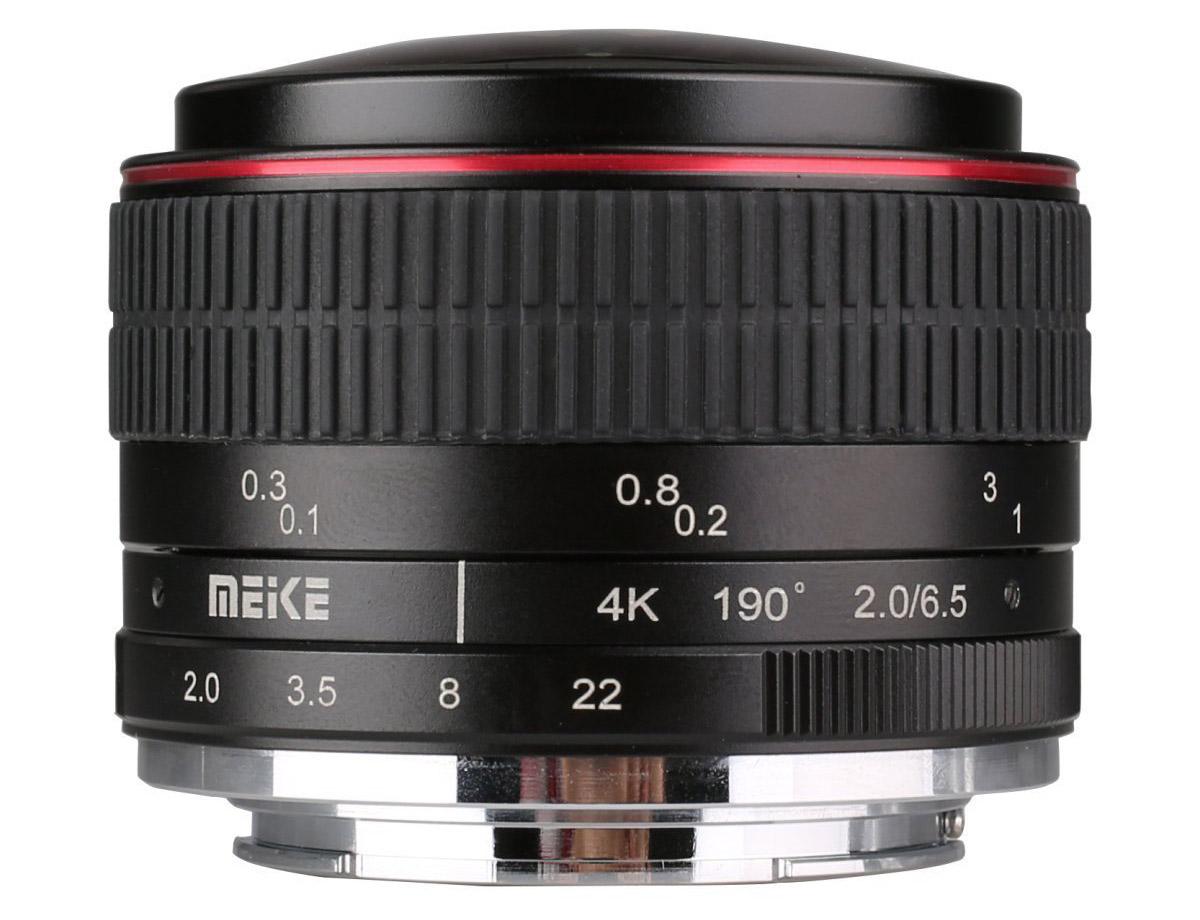 Объектив Meike 6.5mm Ultra Wide f/2.0 Fisheye MFT